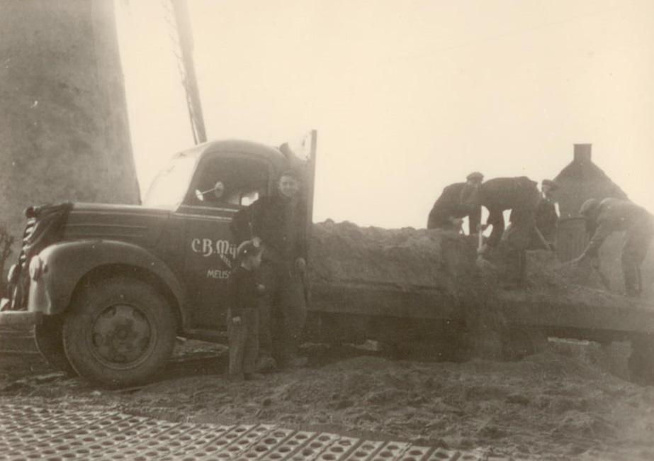 1e vrachtwagen