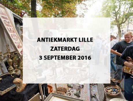 Antiekmarkt (brocante) Lille, Frankrijk