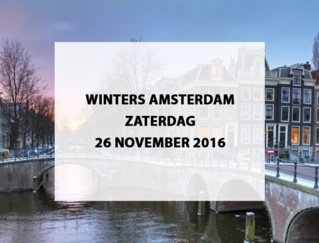 Winters Amsterdam
