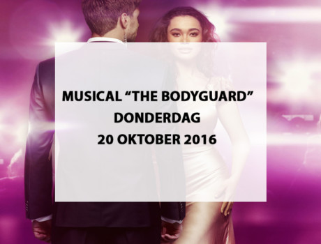 "Musical ""The Bodyguard"" te Beatrix Theater Utrecht"