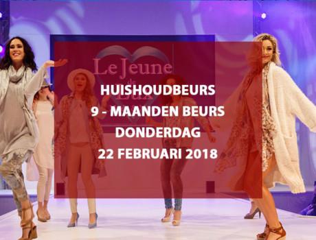 Huishoudbeurs / Negenmaandenbeurs te RAI Amsterdam, donderdag 22 februari 2018