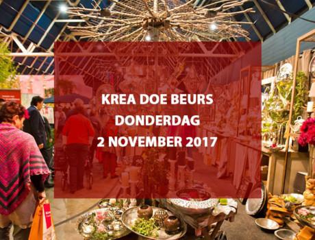 Krea Doe Beurs te Jaarbeurs Utrecht, donderdag 2 november 2017