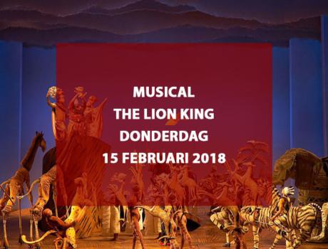 "Musical ""The Lion King"" te Scheveningen, donderdag 15 februari 2018"