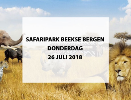 Safaripark Beekse Bergen te Hilvarenbeek, donderdag 26 juli 2018