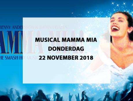 "Musical ""Mamma Mia"" te Beatrixtheater Utrecht, donderdag 22 november 2018"
