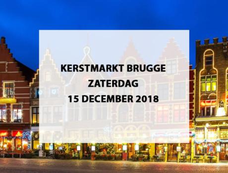 Kerstmarkt Brugge, België, zaterdag 15 december 2018