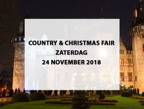 Country & Christmas Fair te Haarzuilens, zaterdag 24 november 2018