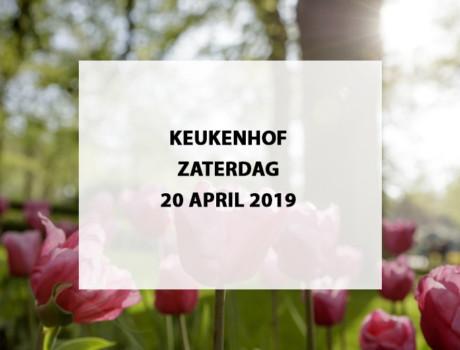 Keukenhof te Lisse, zaterdag 20 april 2019