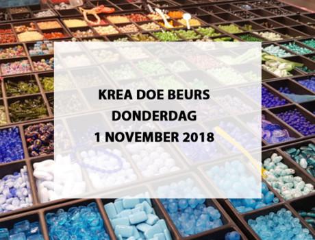 Krea Doe Beurs te Jaarbeurs Utrecht, donderdag 1 november 2018