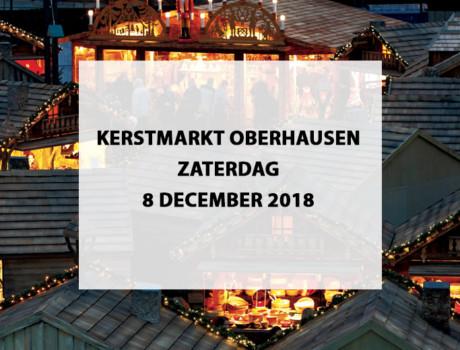 Kerstmarkt Oberhausen, Duitsland, zaterdag 8 december 2018