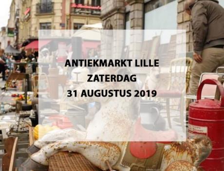 Antiekmarkt Lille, zaterdag 31 augustus 2019