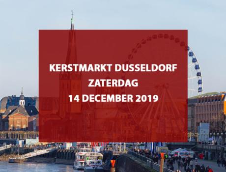 Kerstmarkt Düsseldorf, zaterdag 14 december 2019