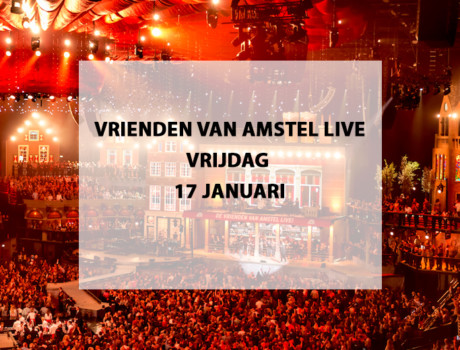 Vrienden van Amstel live, 17 januari 2020