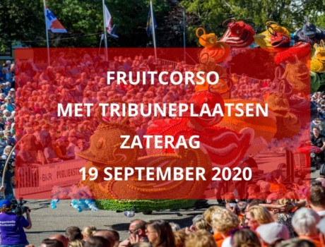 Fruitcorso, zaterdag 19 september 2020