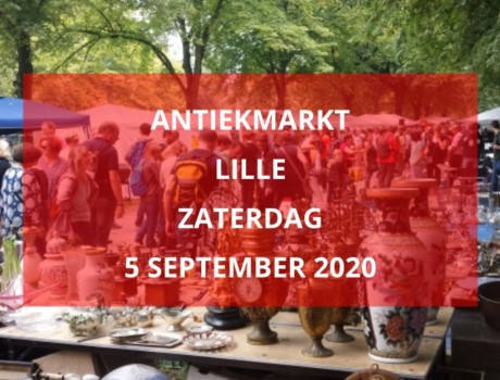 Antiekmarkt Lille, zaterdag 5 september 2020