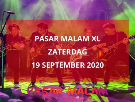 Pasar Malam XL, zaterdag 19 september 2020