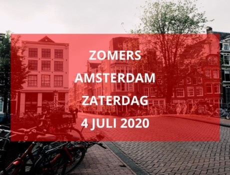 Zomers Amsterdam, zaterdag 4 juli 2020