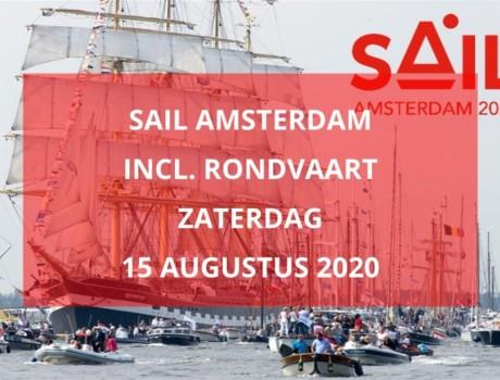 Sail Amsterdam, zaterdag 15 augustus 2020