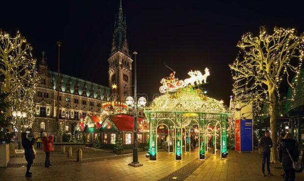 Kerstmarkt te Antwerpen